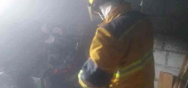 Incendio causo daños materiales