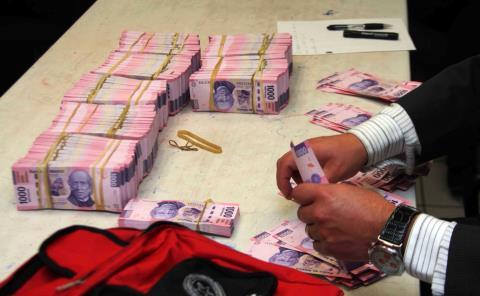 Lavado de dinero en iglesia