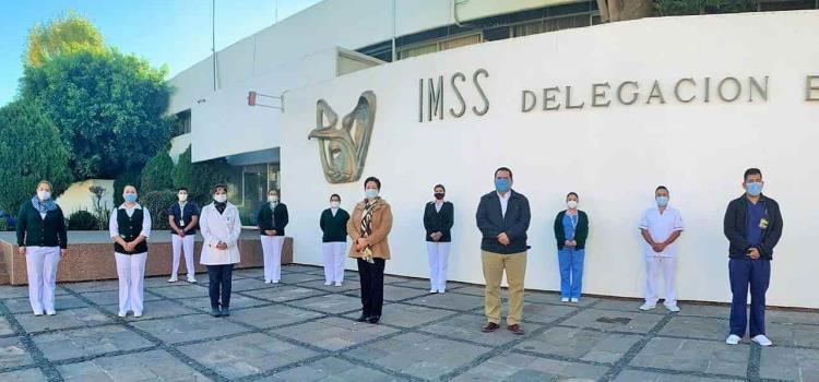 7 enfermeras de Valles a la CDMX