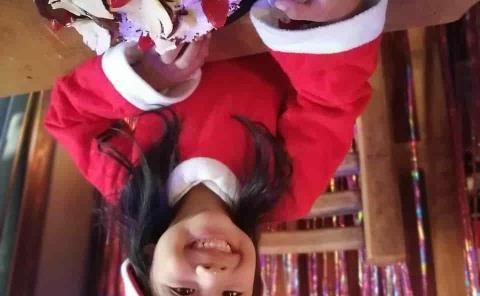 Festejo navideño a Romina Torres