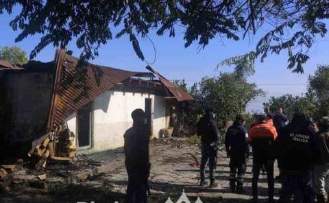 Incendio terminó  con una vivienda