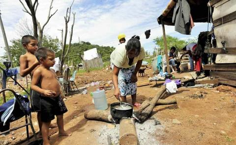 Aumenta hambre y miseria en la zona