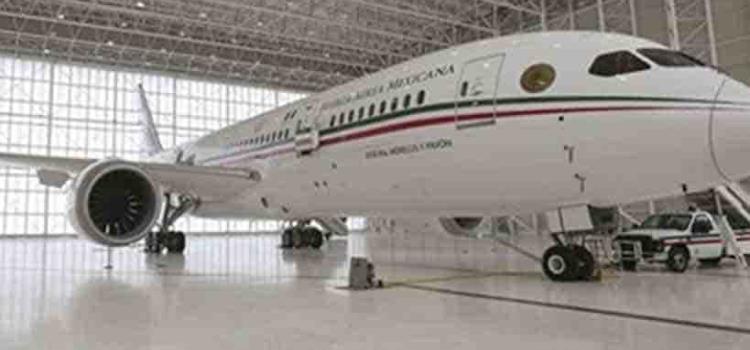 Avión presidencial nadie lo quiere