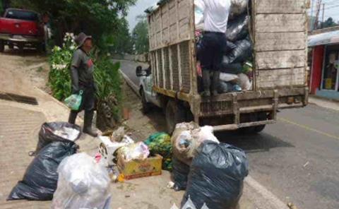 Cabecera generó 7.5  toneladas de basura