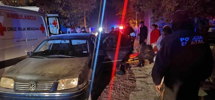 POLICÍA BALEADO