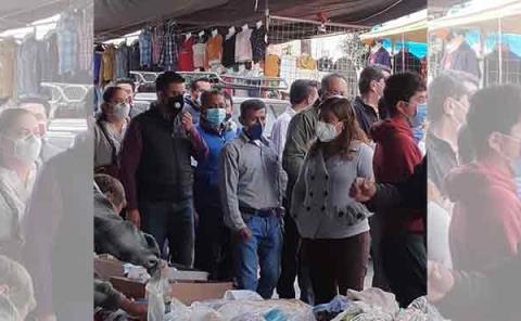 Refuerzan medidas contra la pandemia