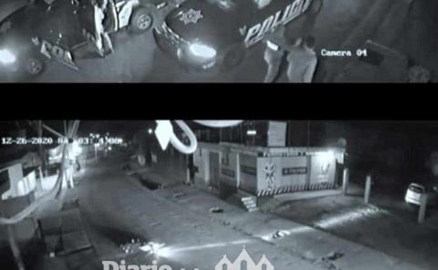 Estatales atropellan a joven motociclista
