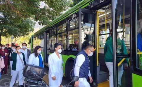 Médicos huastecos en Operativo Chapultepec