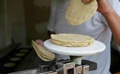 No aumentará precio de tortilla