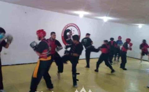 Apasionan las artes marciales