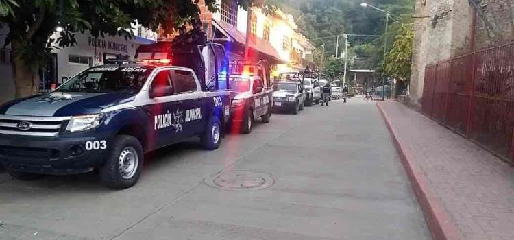 Policía Estatal y GN en operativo