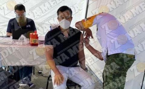 Médicos vacunados contra el covid-19