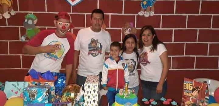 Divertido cumpleaños de Juan Pablo Ramos