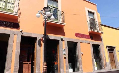 Avanza arreglo del Centro Histórico