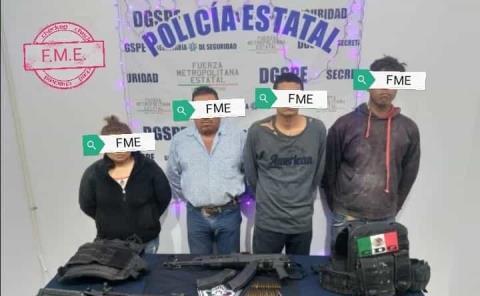 Capturaron gente armada en Villa Juárez