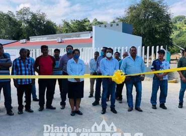 Edil inauguró obras  de pavimentación