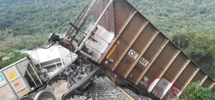 Ferrocarril se descarriló