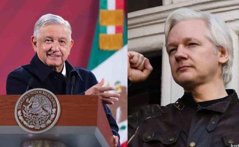 Ofrece AMLO asilo a Julian Assange