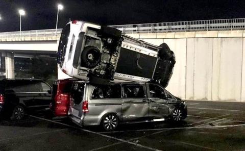 Ex empleado destruyó 50 vehículos Mercedes