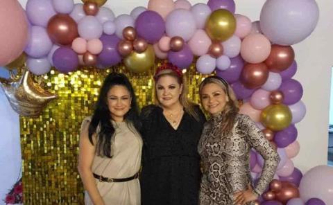 Narcia Pessina festejó en familia