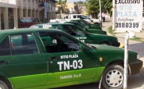 Taxistas esperan no pagar refrendo