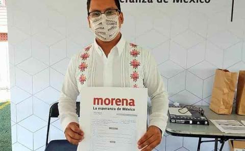Edson precandidato a la Diputación Federal