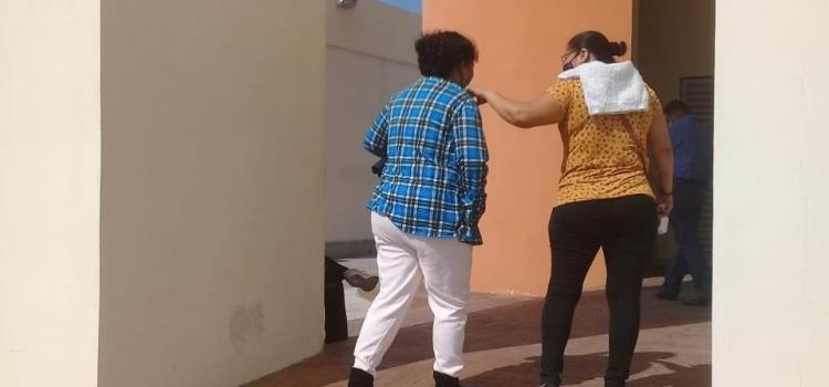 Mujeres golpeadas denuncian a maridos
