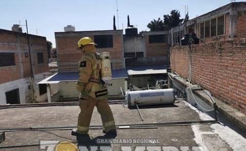 Explotó calentador solar en parroquia
