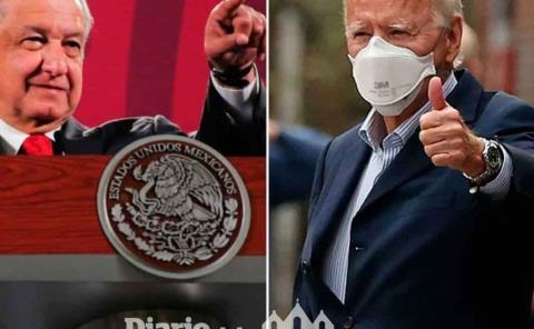 'Biden reconoce atención del Covid-19 en México'