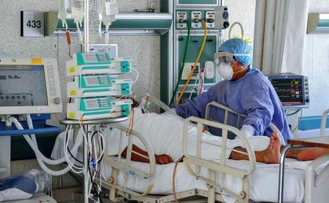 Hospitales llenos