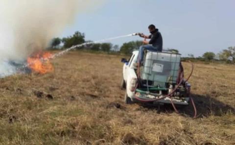 Incendios diarios registra P. Civil