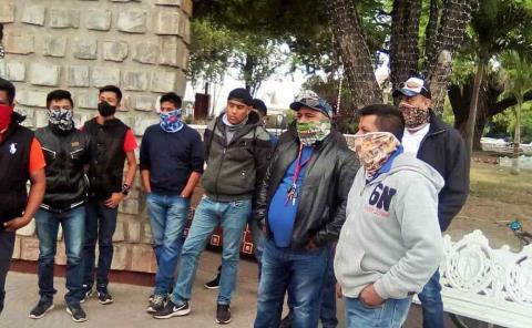 Manifestación de 'guías lancheros'