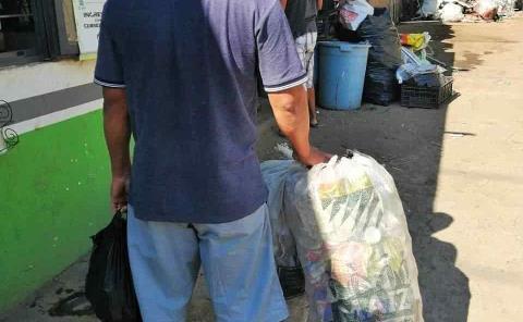 Provoca la crisis vivir del reciclaje