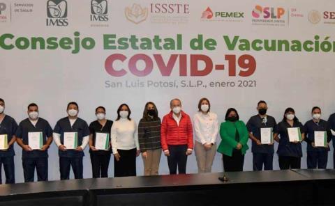 SLP listo para la vacunación