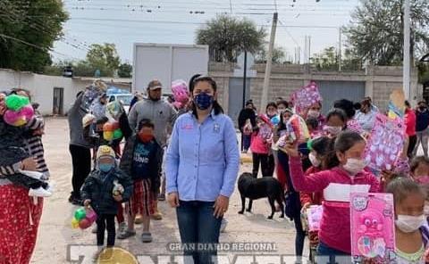 Felicidad a niños llevó DIF local