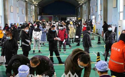 Dos ciudades se van a cuarentena en China