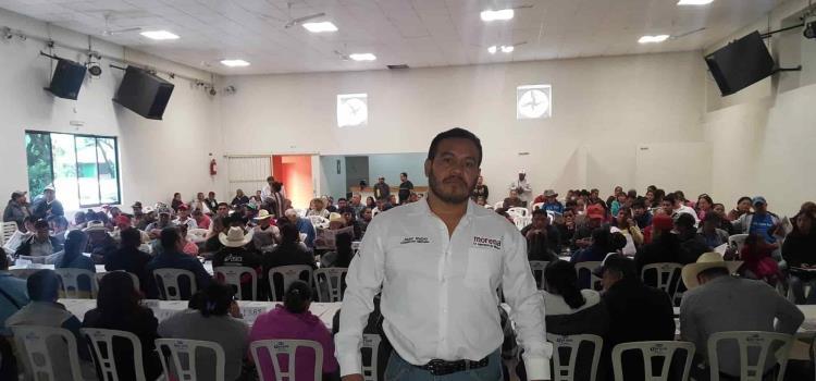 Por malos manejos abandonan Morena: Juan Rubio