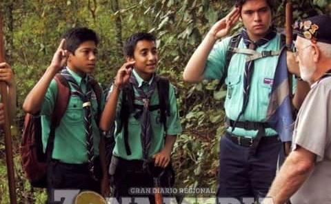 Formarán grupo de scouts en Plazuela