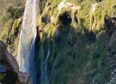 Podría secarse la cascada de Tamul