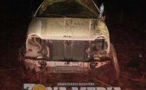 MUERTO EN VOLCADURA