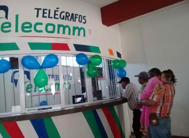 Bajaron envíos de dinero en Telecomm