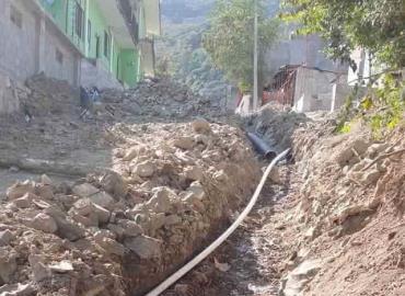 Dejaron sin agua a calle Zaragoza