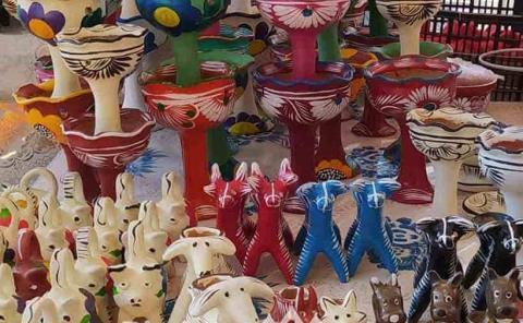 Paralizada venta de las artesanías