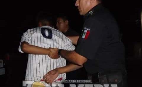 Escandaloso fue detenido