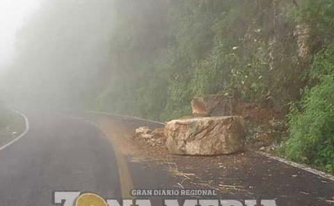 Riesgo de accidentes en las carreteras por lluvias