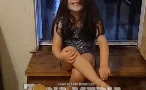 Alina una nena muy sonriente