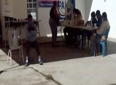 Baja votación en elección: Panistas