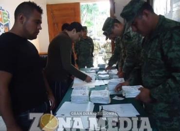 SEDENA recibirá las pre-cartillas militares