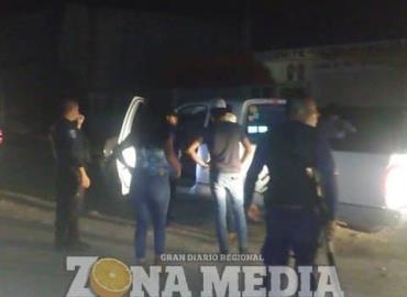 Cinco individuos quedaron presos