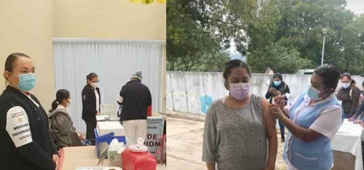 Inició en Tamazunchale vacunación vs. Covid-19